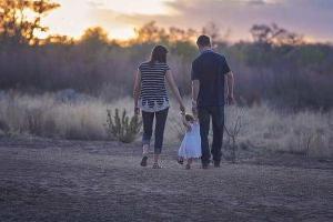 прогулка всей семьей
