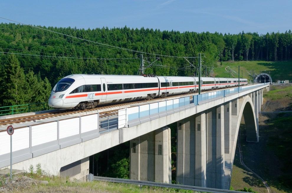 ICE při testovací jízdě Berlín - Mnichov, foto: Deutsche Bahn