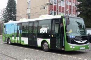 Společnost SOR elektrobusy v Hradci Králové testuje od roku 2015. Foto: Hradeckralove.org