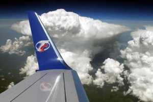 Boeing 737-800 společnost Travel Service během letu. Foto: Travel Service