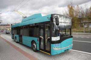 Trolejbus pro Galati. Autor: Škoda Electric