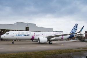 A321neo ACF po představení v závodě Airbusu v Hamburku. Foto: Airbus