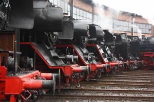 Setkání parních lokomotiv v Drážďanech. Foto: Eisenbahnmuseum Dresden