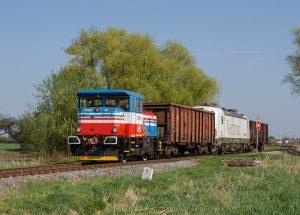 Lokomotiva EffiShunter 300. Foto: CZ LOKO