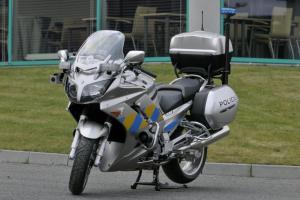 Policejní motocykl Yamaha. Foto: Policie ČR