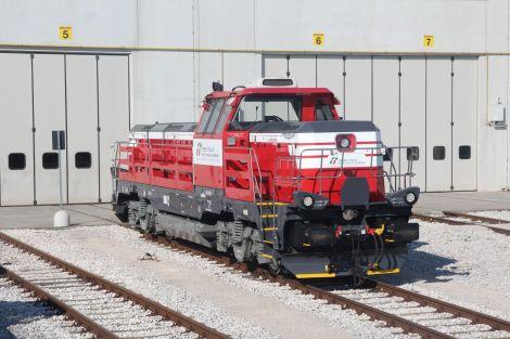 Lokomotiva EffiShunter 1000. Foto: CZ Loko