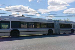 Trolejbus pro Boston. Autor: Škoda Electric