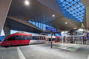 Vídeňské hlavní nádraží. Autor: OEBB Roman Boensch