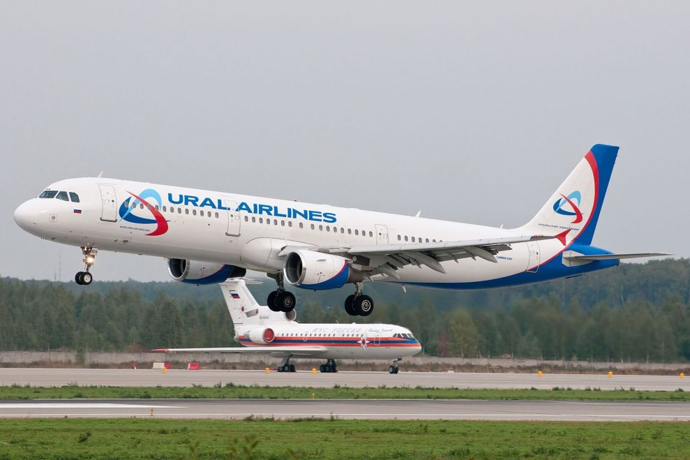 Airbus A321 společnosti Ural Airlines. Foto: By Anton Bannikov [GFDL (http://www.gnu.org/copyleft/fdl.html) or GFDL (http://www.gnu.org/copyleft/fdl.html)], via Wikimedia Commons