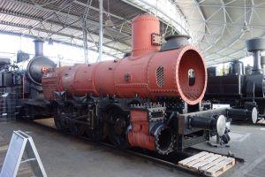 Lokomotiva 411.019 Conrad Vorlauf z roku 1873. Pramen: ministerstvo kultury