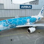 Airbus A380 v laku pro All Nippon Airways. Foto: Airbus