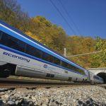 Railjet mezi Brnem a Adamovem u bílovických tunelů. Foto: České dráhy