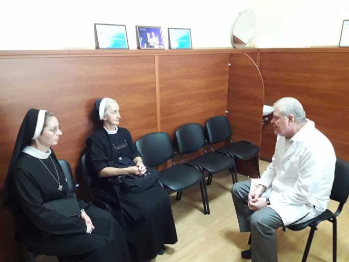 У Полтаві сестри монахині розпочали духовну працю у міській лікарні