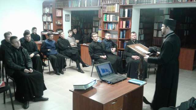 Семінар «Життя після АТО у Київській Духовній семінарії
