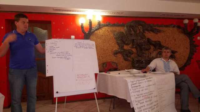 Семінар-тренінг «Стратегічне планування» для медичних капеланів