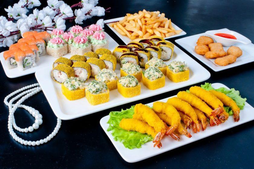 Food Sushi Seafood Japanese  - stafichukanatoly / Pixabay