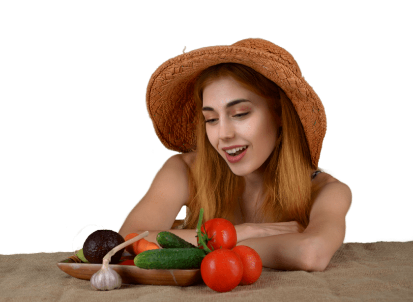 Girl Woman Vegetables Health Diet  - JerzyGorecki / Pixabay