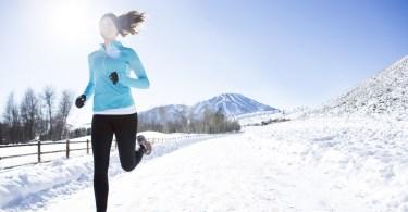 trcanje na hladnom vremenu