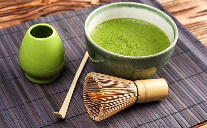 matcha zeleni čaj priprema