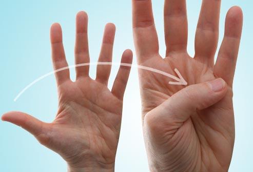 savijanje palca
