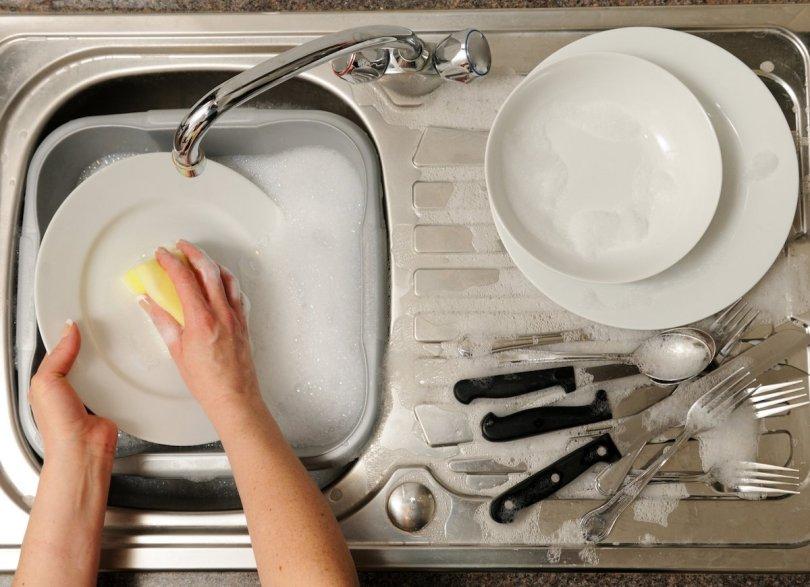 prljavo posuđe