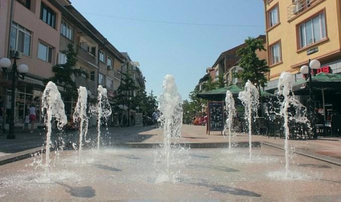 фонтани в Поморие