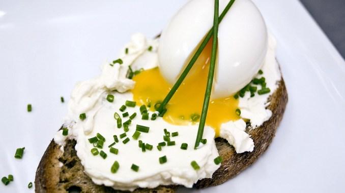 сандвич с яйце