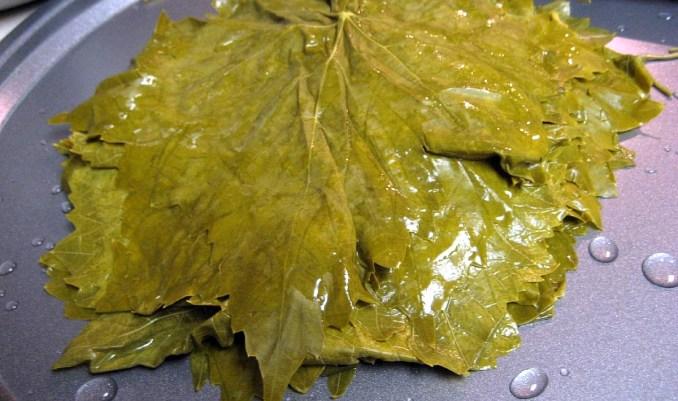 лозови листа за сърми