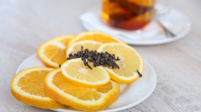 лимони и чай