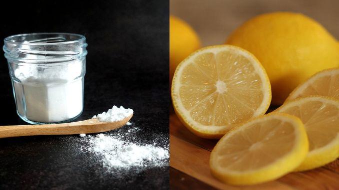 сода бикарбонат с лимон