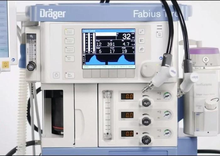 машина за командно дишане