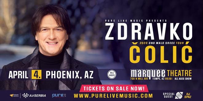 Posle Los Angelesa Zdravko stiže i u Phoenix