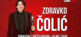 Zdravko Čolić – 20 juna u Kragujevcu