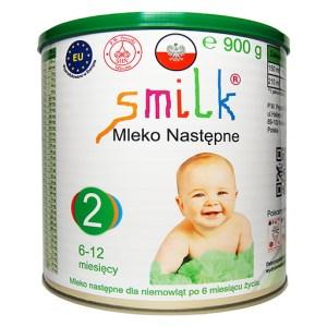 mleko następne dla niemowląt SMILK 2 900g