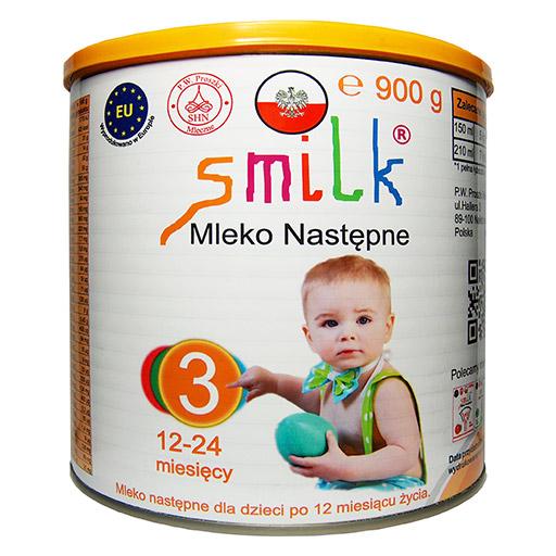 mleko następne dla dzieci SMILK 3 - 900g