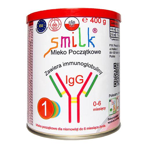 mleko dla niemowląt SMILK1 400g