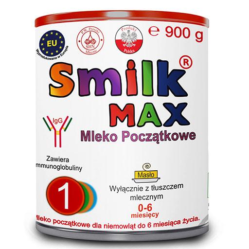 mleko dla niemowląt SMILK MAX 1 900g