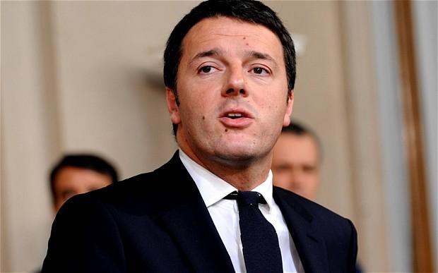 Pemimpin negara cerdas dan tampan: Matteo Renzi.