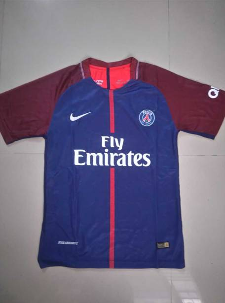 PSG-Football-Jersey-Home-17-18-Season-Front