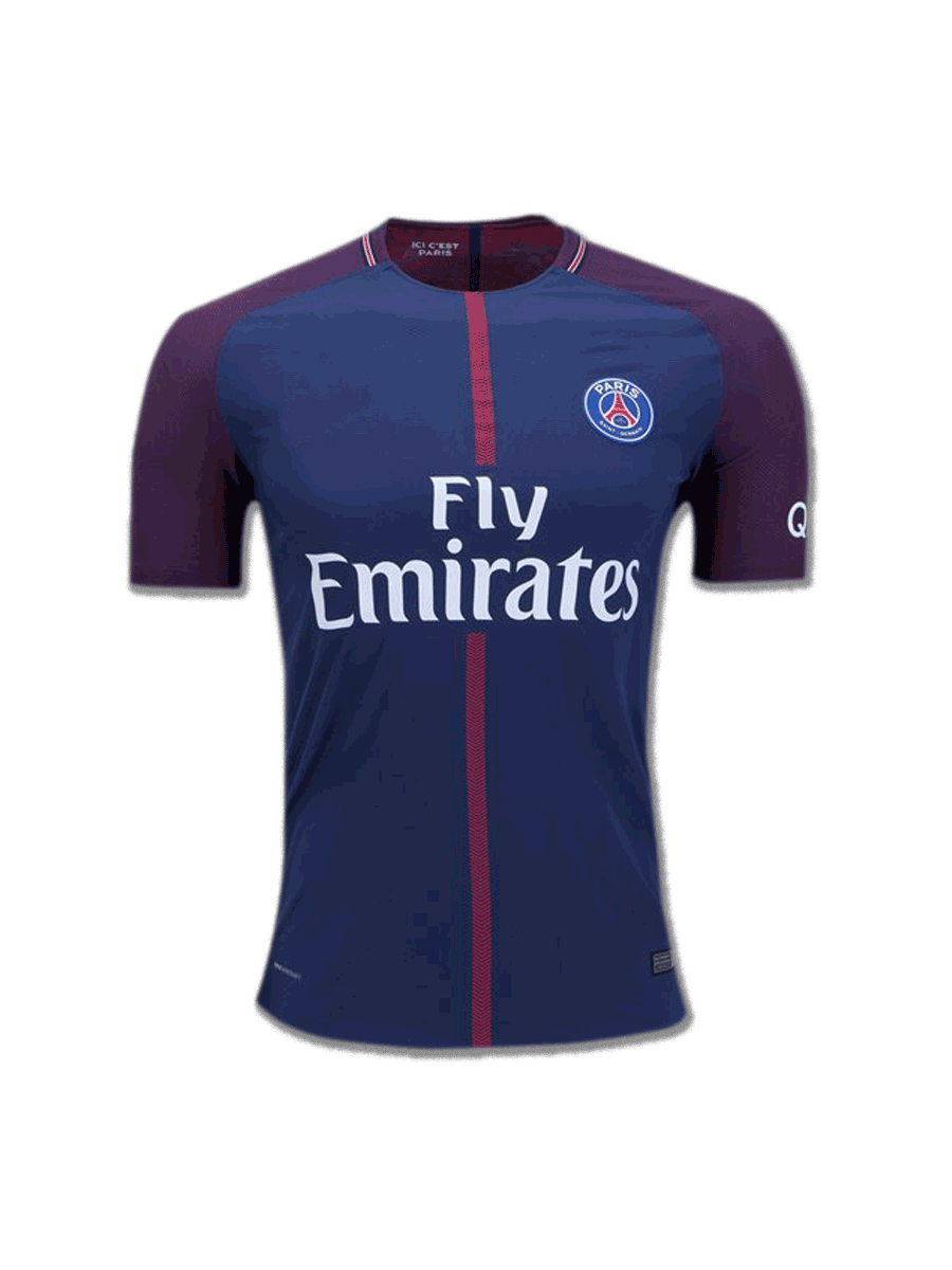 PSG Football Jersey Home 17 18 Season