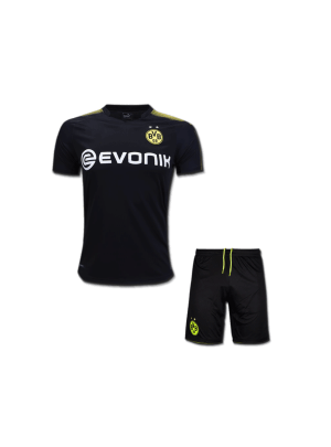Kids-Borussia-Dortmund-Football-Jersey-and-Shorts-Away-17-18-Season