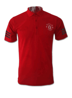 Manchester-United-Red-Color-Polo-T-Shirt