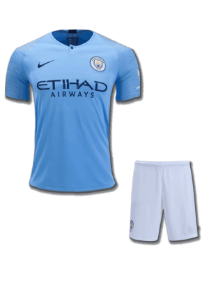 Manchester-City-Football-Jersey-And-Shorts-Home-18-19-Season