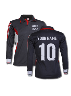 Black-Color-Long-Sleeve-Sports-Jersey-Design-Front-Back