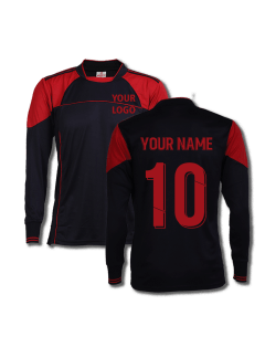Black-Red-Color-Long-Sleeve-Sports-Jersey-Design-Front-Back