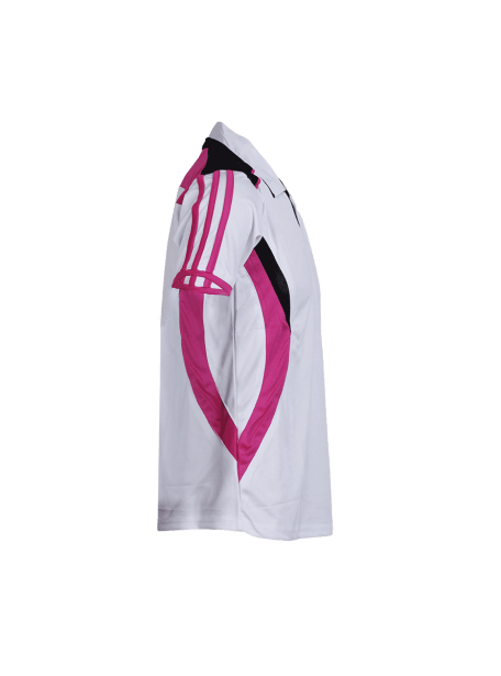 White-Multi-Color-Badminton-Jersey-Design-Side