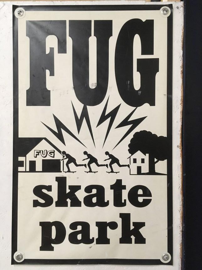 雨の日も滑れる室内スケートパークFUG skate park