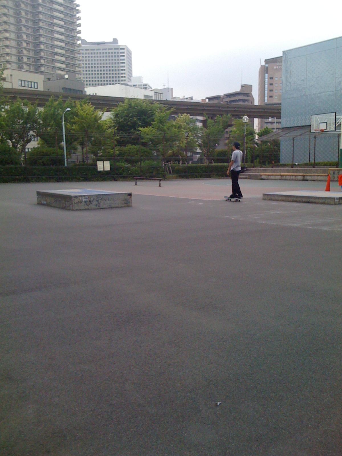 ミニアキこと、田町スケートパーク、夕凪橋公園
