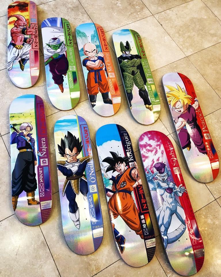 Primitivi Skate & Dragon Ball Z
