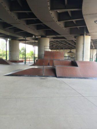 新横浜スケートパーク バンクtoバンクなど